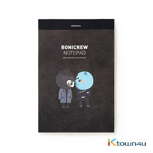 [BONICREW] Guardian: The Lonely and Great God - Bonicrew Notepad (B5) Blackhug&Boglegelblue
