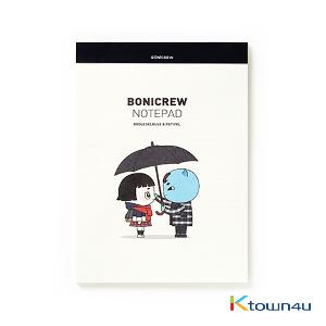 [BONICREW] Guardian: The Lonely and Great God - Bonicrew Notepad (B5) Boglegelblue&Petipel