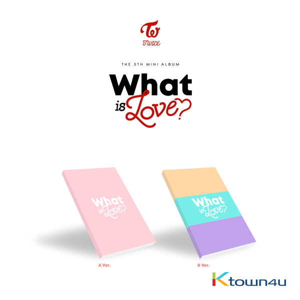TWICE - Mini Album Vol.5 [WHAT IS LOVE?]