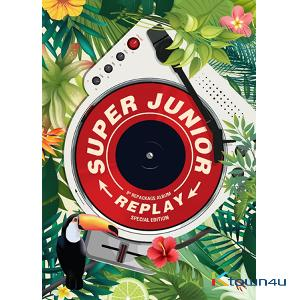 Super Junior - Album Vol.8 Repackage [REPLAY] (Special Edition) (*Order can be canceled cause of early out of stock)