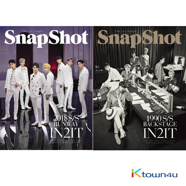 [SET][2CD + 2POSTER SET] IN2IT - Single Album [SnapShot] (Runway Ver. + Backstage Ver.)