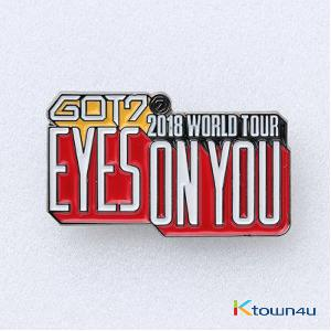 GOT7 - LOGO BADGE [EYES ON YOU 2018 WORLD TOUR] (*Order can be canceled cause of early out of stock)