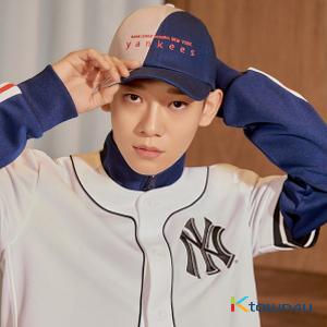 [MLB] EXO - New Crew Half and Half Curve Control Cap (Navy)