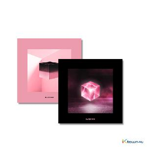 [SET][2CD SET] BLACKPINK (ブラックピンク) - Mini Album Vol.1 [SQUARE UP] (Black Ver. + Pink Ver.) * to buy poster, please select the poster option