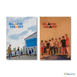 [SET][2CD SET] UNB - Mini Album Vol.2 [BLACK HEART] (BLACK Ver. + HEART Ver.) * to buy poster, please select the poster option