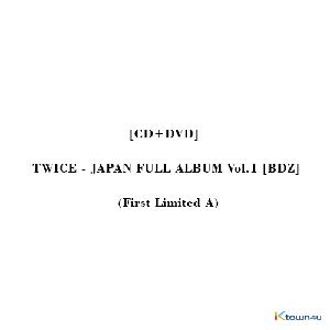 [CD+DVD] TWICE (トゥワイス) - JAPAN FULL ALBUM Vol.1 [BDZ] (First Limited A)