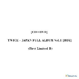 [CD+DVD] TWICE (トゥワイス) - JAPAN FULL ALBUM Vol.1 [BDZ] (First Limited B)