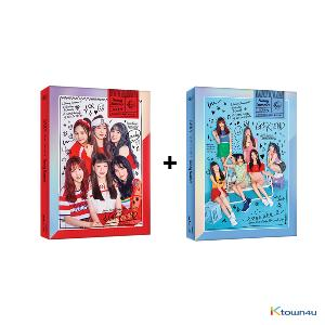 [SET][2CD SET] GFRIEND - Summer Mini Album [Sunny Summer] (Sunny Ver. + Summer Ver.) * to buy poster, please select the poster option