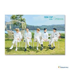 [Signed Edition] TEEN TOP - Mini Album Vol.8 Repackage [TEEN TOP STORY : 8PISODE] (Stock date can be delaying cause of artist issue, so the item should be ordered independently.)