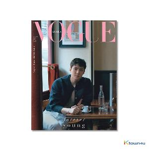 [雑貨] VOGUE 2018.08 A Type (EXO : SEHUN) *Folded Poster gift