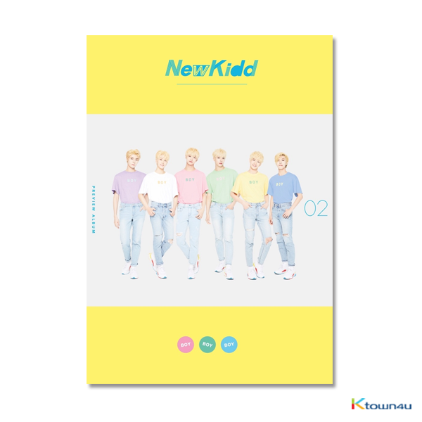Newkidd02 - Single Album Vol.2 [BOY BOY BOY]