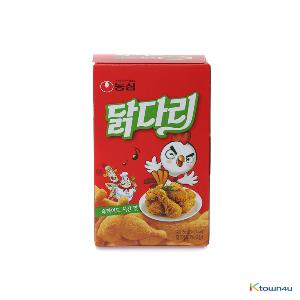 [NONGSHIM] chicken legs Snack Fried chicken flavor 66g