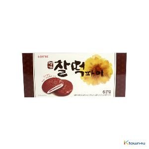 [LOTTE] Chocolate Rice Cake Pie 375g