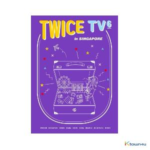 [韓国盤DVD]TWICE (トゥワイス) - TWICE TV6 TWICE in Singapore DVD