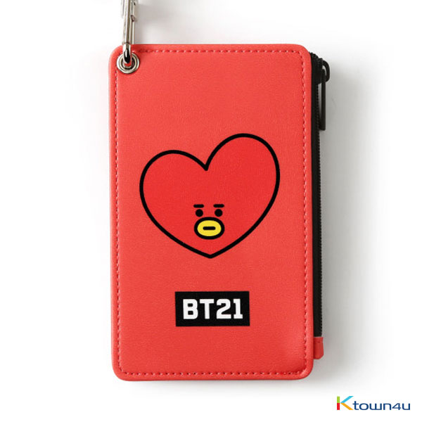 [BT21] STRAP CARD HOLDER : TATA