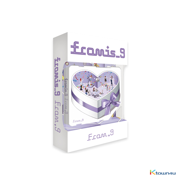 fromis_9 - Special Single Album [From.9] (Kihno Album) *Due to the built-in battery of the Khino album, only 1 item could be ordered and shipped at a time.
