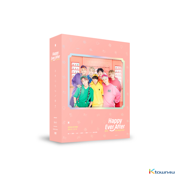 [韓国盤DVD] BTS (防弾少年団) - BTS 4th MUSTER [Happy Ever After] DVD