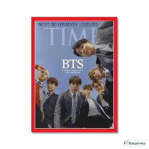 [foreign books] Time - Asia Ed. 2018.10.22 (Time Asia Edition : BTS Cover) *A3 Poster gift