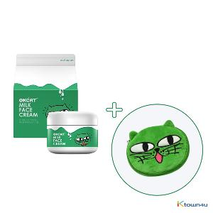 [+Free Pouch] [costagram] OKCAT MILK FACE CREAM (2PM :Taec Yeon)