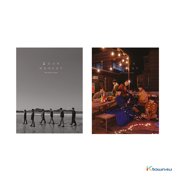 [SET][2CD SET] BTOB - Special Album [HOUR MOMENT] (HOUR Ver. + MOMENT Ver.)