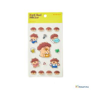 [BONICREW] My Secret Terrius So Ji Sub - Mani Fun Sticker (Yellow)