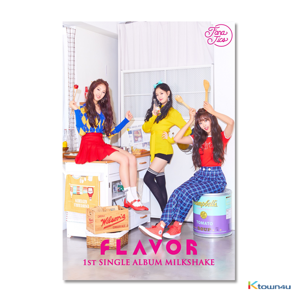 FANATICS-FLAVOR - Single Album Vol.1 [MILKSHAKE]