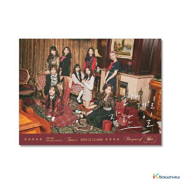 TWICE - Special Album Vol.3 [The year of Yes] (Random Ver.)