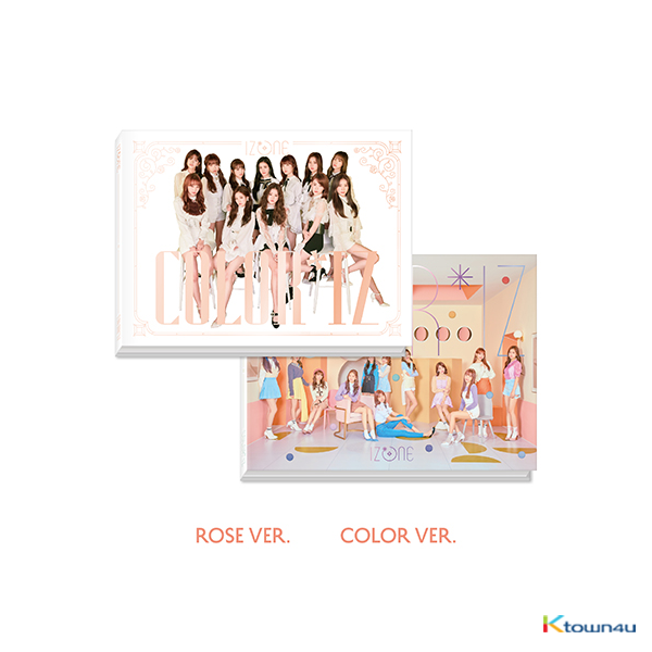 IZ*ONE - Mini Album Vol.1 [COLOR*IZ] (Random Ver.)