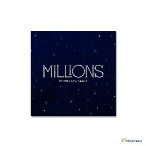 WINNER - ニューシングルアルバム [MILLIONS] (WHITE LIGHT Ver.)