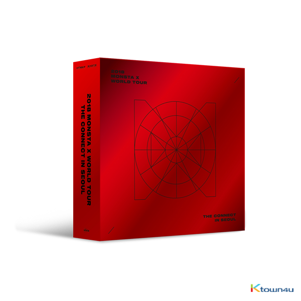 MONSTA X - 2018 MONSTA X WORLD TOUR THE CONNECT KIHNO VIDEO (Due to the built-in battery of the Khino album, only 1 item could be ordered and shipped at a time.)