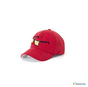 [SKULLHONG] SUNGLASS EMBROIDERY BALL CAP (RED) [18SS]