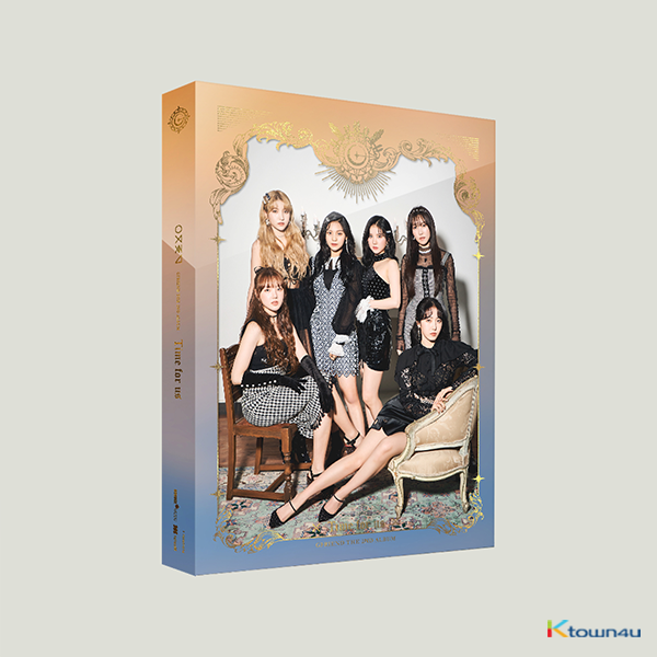 GFRIEND - 正規2集アルバム [Time for us] (Midnight Ver.) (second press)