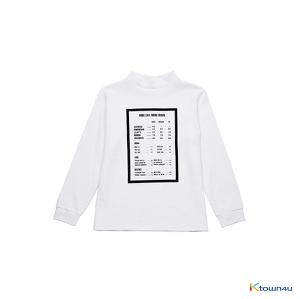 [SKULLHONG] MENU BOARD T-SHIRT [15FW] メニューボードTシャツ