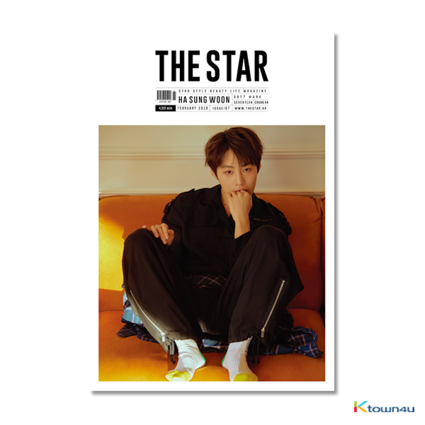 [韓国雑誌] THE STAR 2019.02 B Type (WANNA ONE : HA SUNG WOON, GOT7 : MARK, SEVENTEEN, CHUNG HA) *ブロマイドをプレゼント