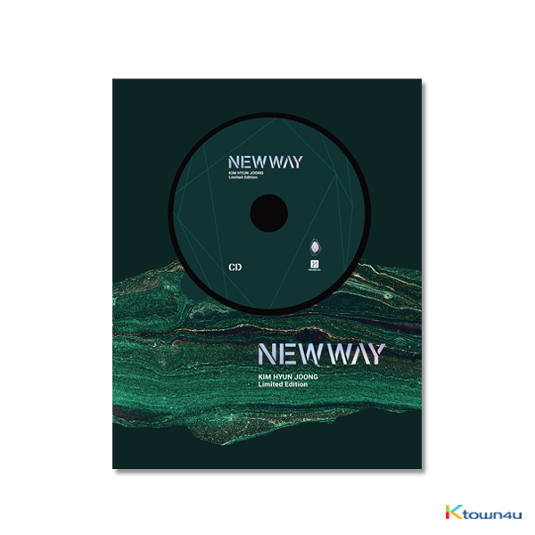 Kim Hyun Joong - アルバム [NEW WAY] (CD+DVD) 10,000 Numbering Limited Edition