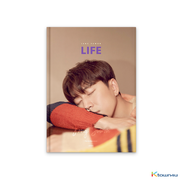 [フォトブック&DVD] SECHSKIES : JANG SUWON - [LIFE] JANG SUWON THE 1st PHOTOBOOK (Purple バージョン)
