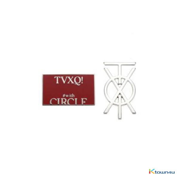 TVXQ! - バッジ [CIRCLE - #with OFFICIAL GOODS]