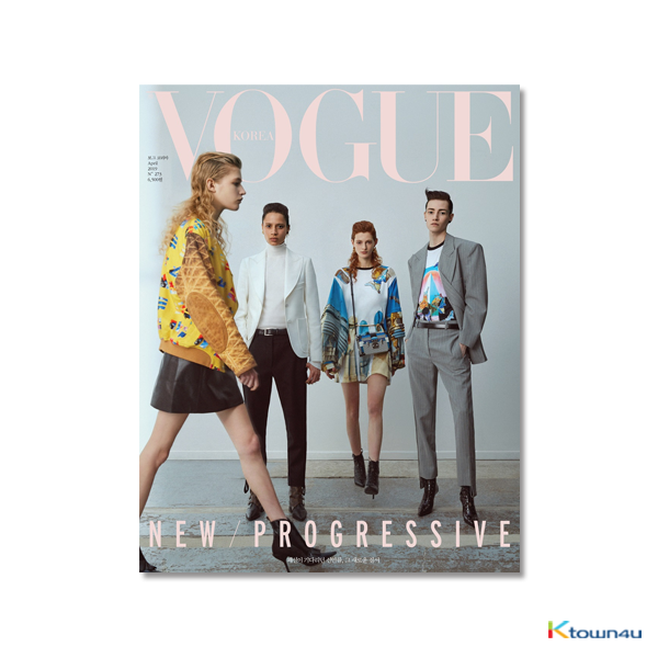 [韓国雑誌] VOGUE 2019.04 (SHINEE : TAEMIN, RED VELVET : IRENE, Jus2)