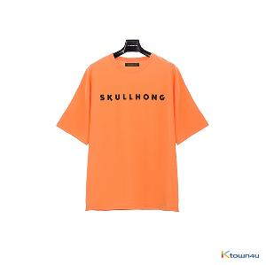 [SKULLHONG] Logo T-Shirt Orange [19SS] ロゴTシャツ・オレンジ