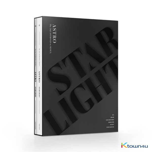 【韓国版】[Blu-Ray] ASTRO - ASTRO The 2nd ASTROAD to Seoul [STAR LIGHT] BLU-RAY