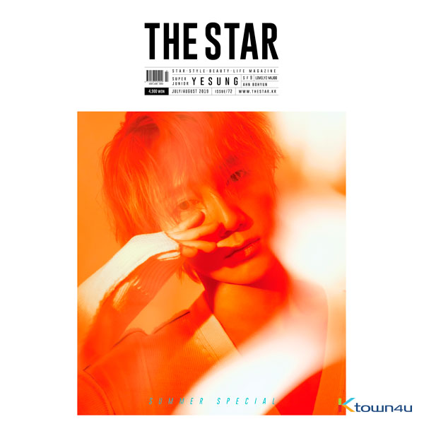[韓国雑誌] THE STAR 2019.007-08 (Super Junior : YeSung)