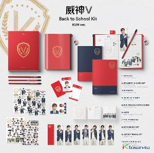 WayV - 2019 WayV Back to School Kit (KUN) *Ktown4u Preorder benefit : Big Postcard 115*170mm 1p