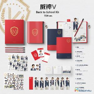 WayV - 2019 WayV Back to School Kit (TEN) *Ktown4u Preorder benefit : Big Postcard 115*170mm 1p
