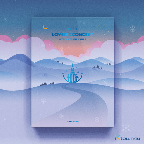 【韓国盤】​ Lovelyz - 2019 LOVELYZ CONCERT [LOVELYZ IN WINTER WORLD 3] KIHNO VIDEO