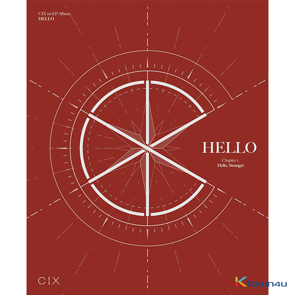 CIX - EPアルバム 1集 [HELLO Chapter 1. Hello, Stranger] (Hello Ver.)
