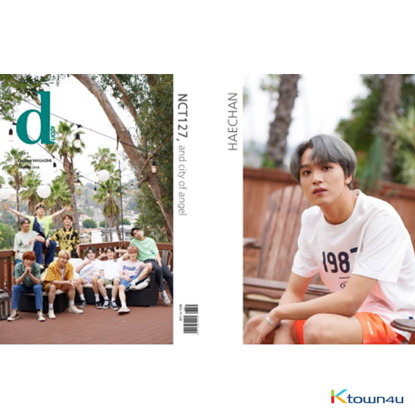 [Magazine] D-icon : Vol.5 NCT127 - NCT127, and city of angel [2019] HaeChan Ver