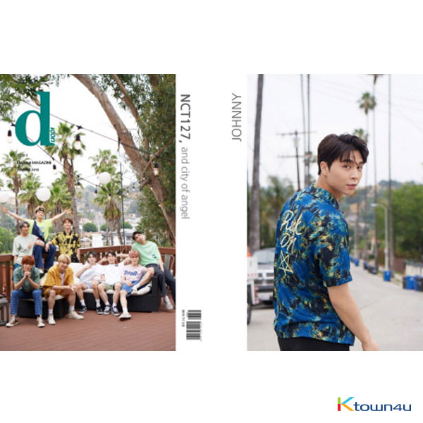 [Magazine] D-icon : Vol.5 NCT127 - NCT127, and city of angel [2019] Johnny Ver