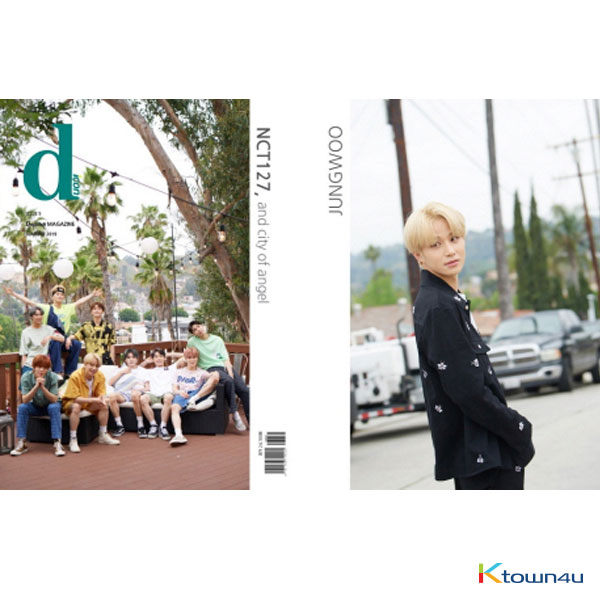 [Magazine] D-icon : Vol.5 NCT127 - NCT127, and city of angel [2019] JungWoo Ver