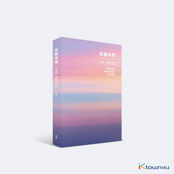 BTS - 花樣年華 THE NOTES 1 (S) *Not Pre-order benefit gift included (*Order can be canceled cause of early out of stock)