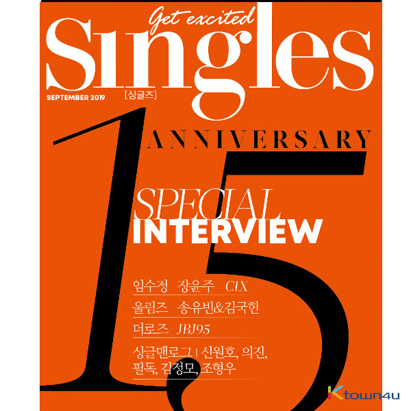 [韓国雑誌] Singles 2019.09 (CIX, The Rose, JBJ95)